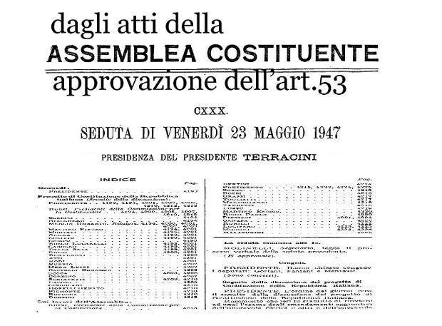 @6 Costituente per art 53 seduta del 23 maggio 47
