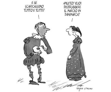 @Sergio Staino rid - Shakespeare per Scaricare Tutto Tutti