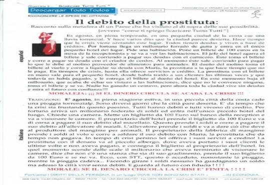 Il debito della prostituta