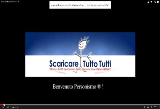 Video – Benvenuto