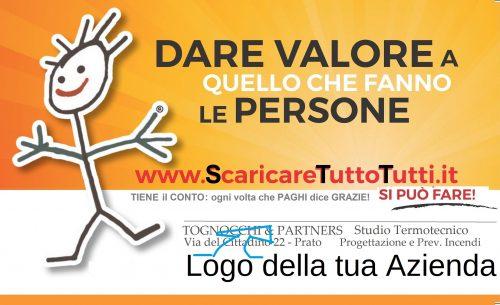 """La CashBack Card """"EFFETTO Scaricare Tutto Tutti!"""""""